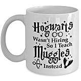 """Hogwarts Wasn't Hiring So I Teach Muggles Instead"" Mug"