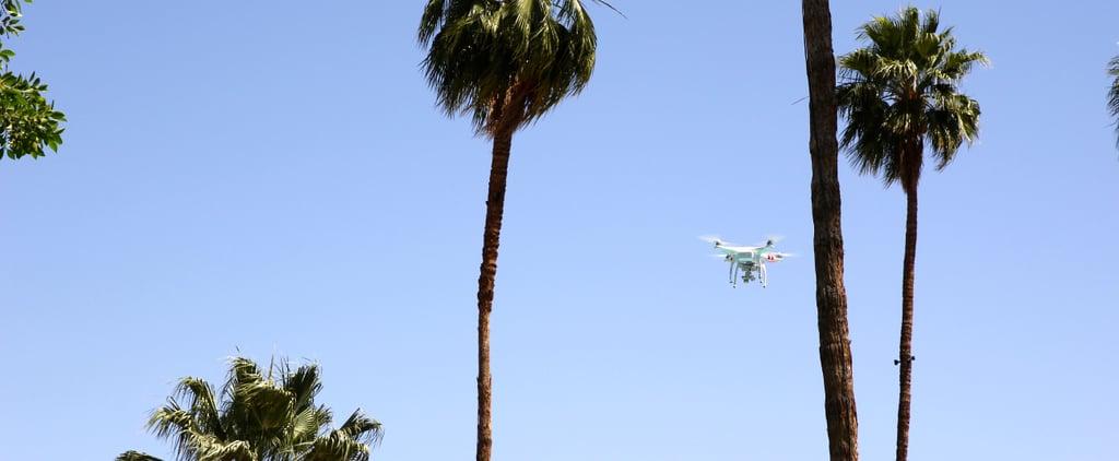 دبي توزع وجبات الطعام باستخدام الطائرات من دون طيار في رمضان