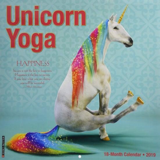 Unicorn Yoga Calendar