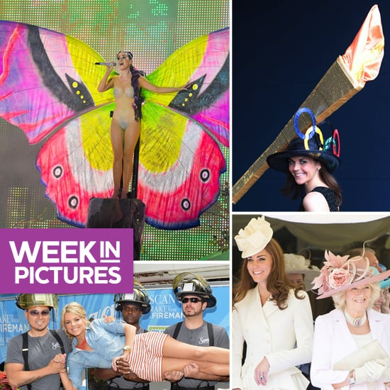 Katy Perry Transforms Into a Butterfly, Ali Fedotowsky Hangs With Firemen, and Kate Middleton Is a Vision in White