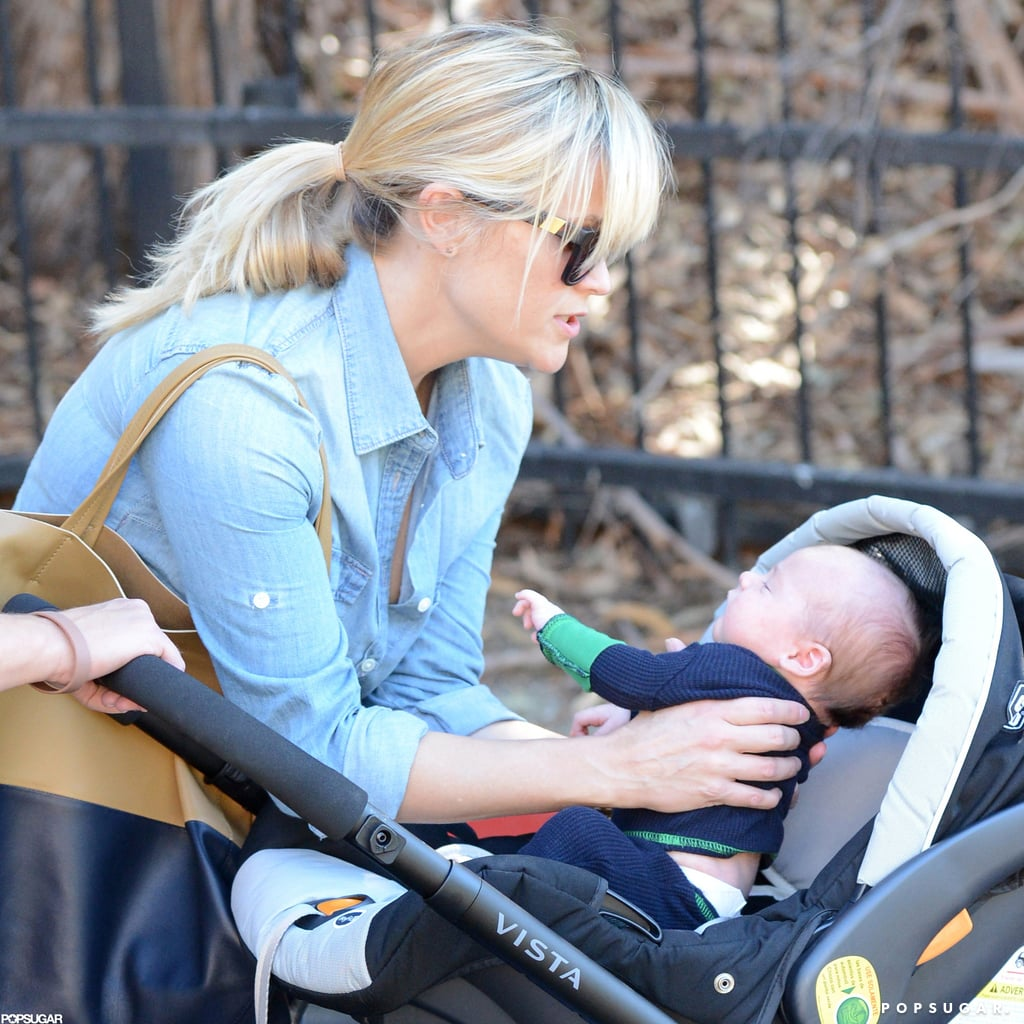 Reese Witherspoon gave birth to her third child, Tennessee Toth, in September 2012.