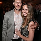 A year after welcoming their daughter, Leighton cuddled up to her husband during an afterparty for the premiere of his Crackle TV series, Startup, in LA.