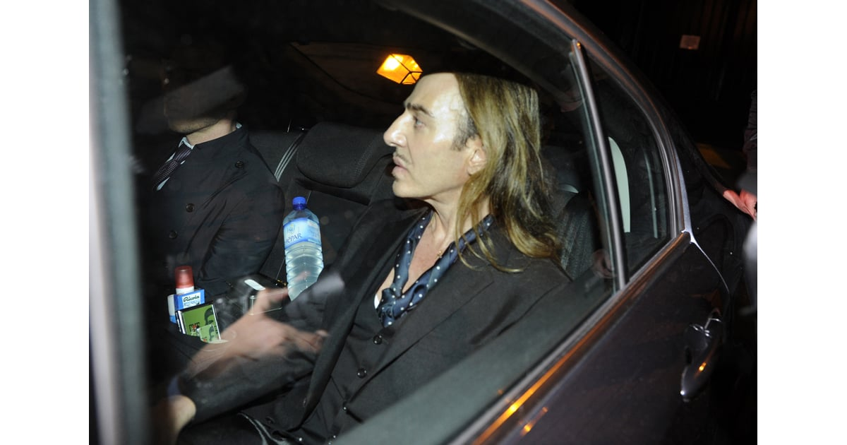 John Galliano Will Not Appear In Courtroom for Trial ...