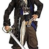 Disney Pirates of the Caribbean Captain Jack Sparrow Costume
