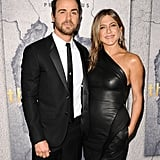 Jennifer supported Justin at the LA premiere of The Leftovers in April 2017.