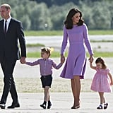 The Royal Family During Their Germany Tour