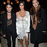 Kourtney's Givenchy Pantsuit