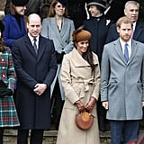 When They Made Meghan Feel Welcome at Her First Christmas Service