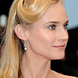 Diane Kruger posed for pictures at the premiere of Amour.