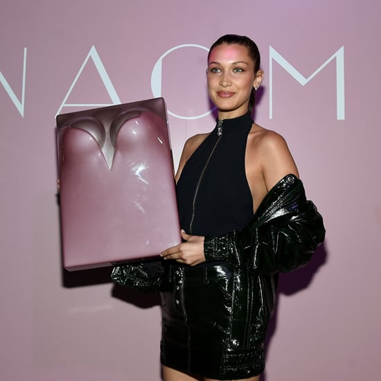 Bella Hadid Leather Outfit at Naomi Campbell's Party 2016