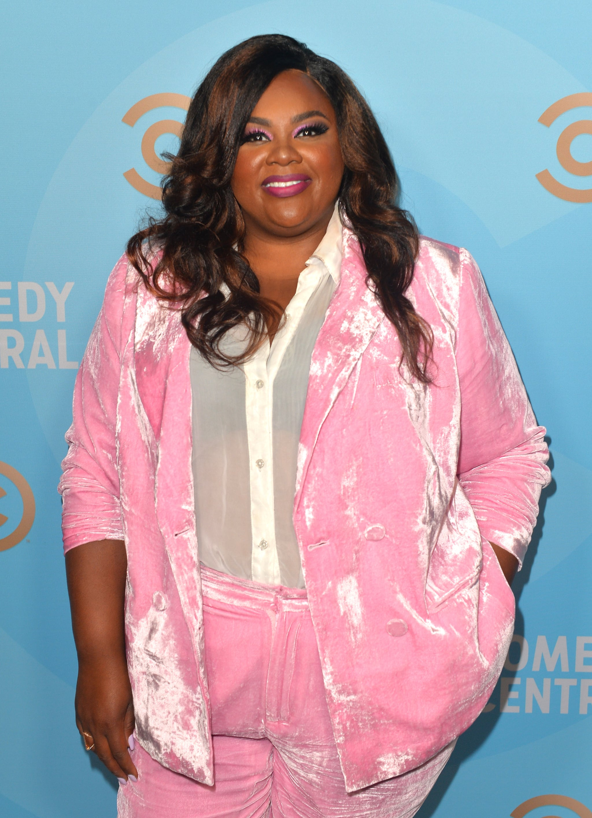 HOLLYWOOD, CALIFORNIA - SEPTEMBER 21: Nicole Byer attends Comedy Central's Emmy Party at Dream Hotel on September 21, 2019 in Hollywood, California. (Photo by Jerod Harris/Getty Images for Comedy Central)