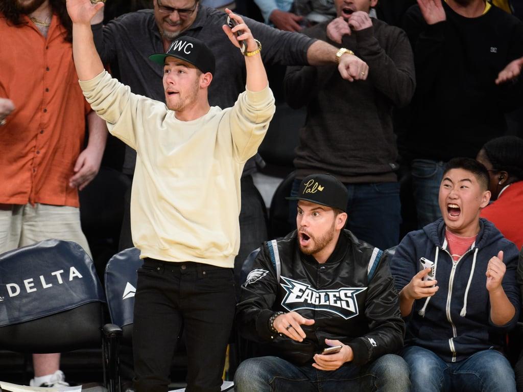 Nick Jonas Out in LA March 2016