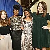 Pictured: Jamie Lee, Sasheer Zamata, Britt Stephens, and Michelle Collins