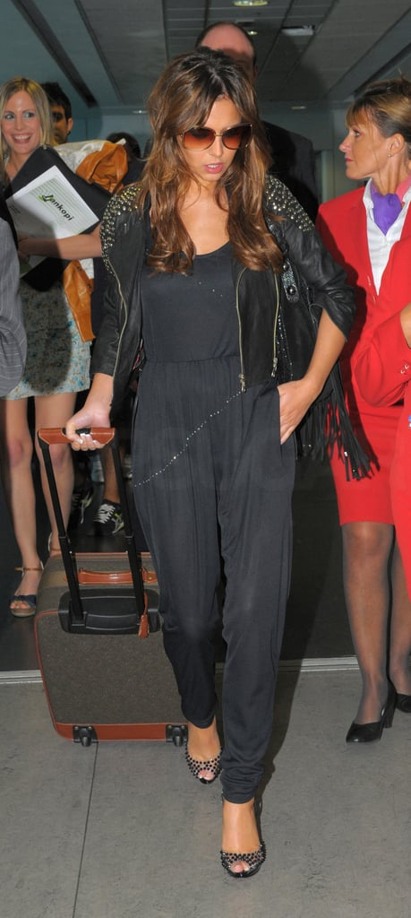 Photos of Cheryl Cole at Heathrow Airport
