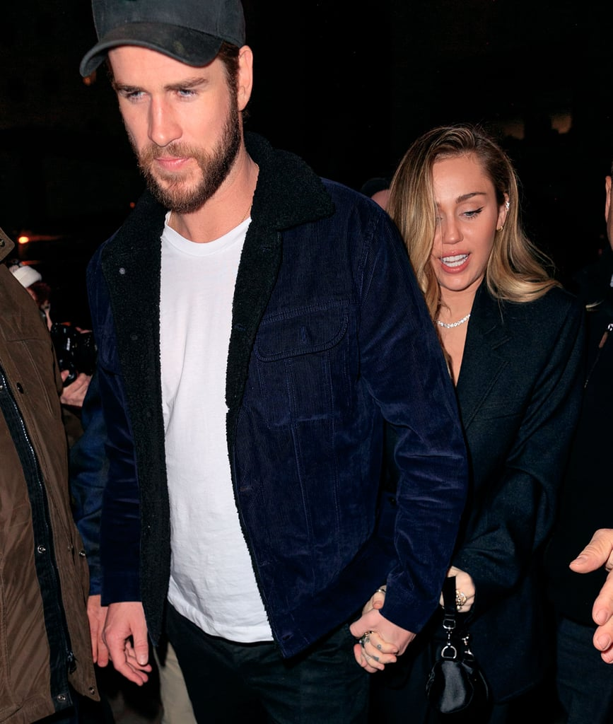 Miley and Liam walked hand in hand to an SNL afterparty in December 2018.
