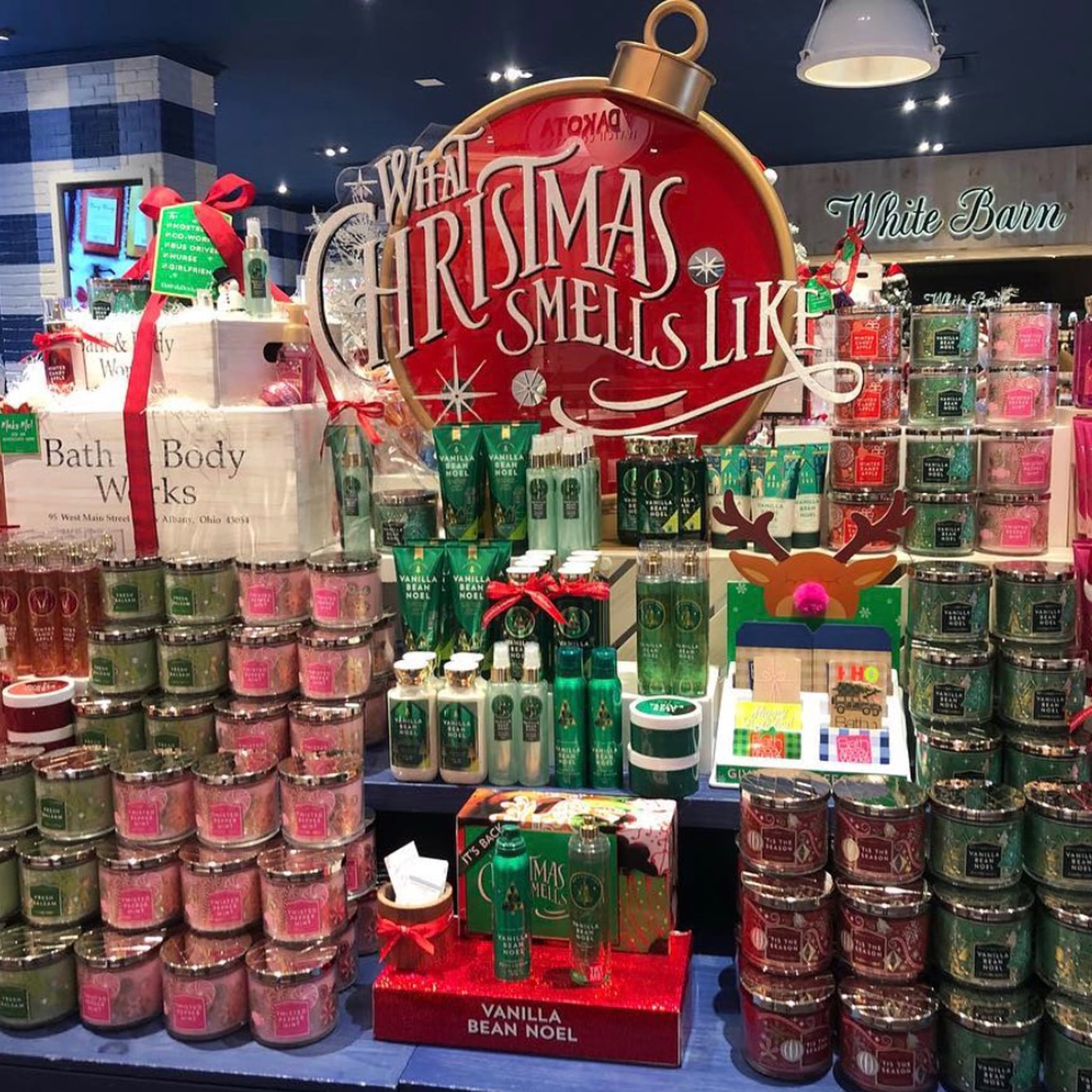 bath and body works releases christmas collection popsugar beauty