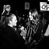 POPSUGAR Fashion TV reporter Allison McNamara interviewed Olivia Palermo.