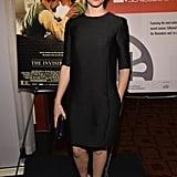 Felicity Jones in Polka Dot Dior Dress