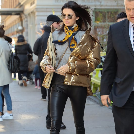 Kendall Jenner and Bella Hadid Puffer Jacket