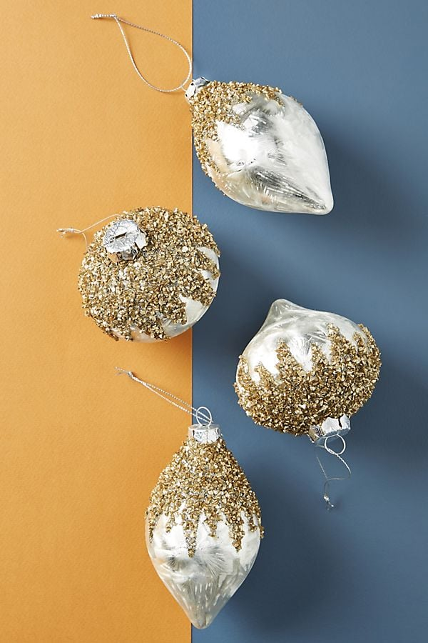 Icy Ornaments, Set of 4