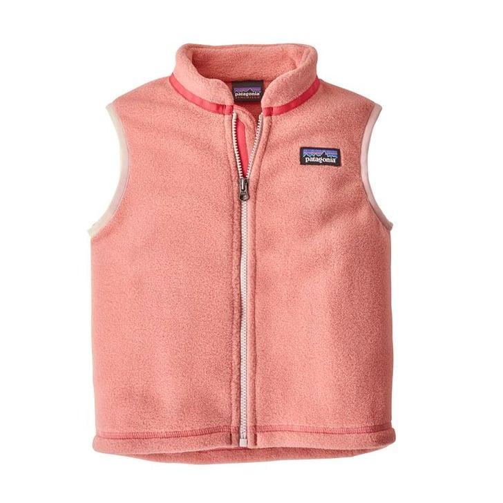 Patagonia Baby Synchilla Fleece Vest Best Eco Friendly
