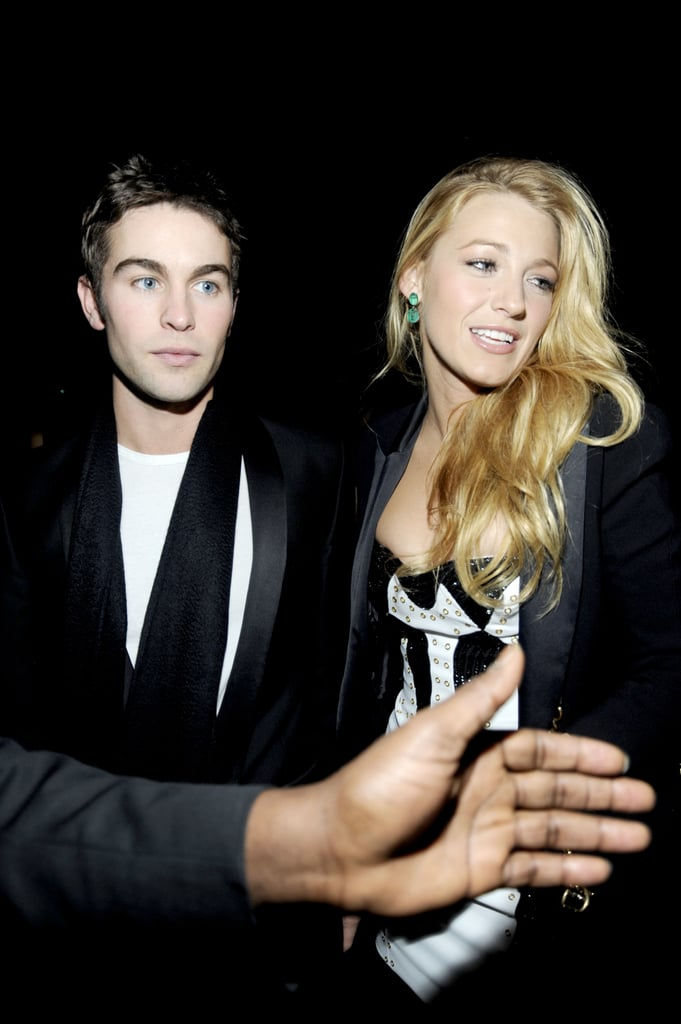 Blake Lively met up with Gossip Girl costar Chace Crawford.