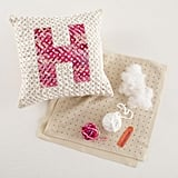 Alpha-Stitch Pillow Craft Kit