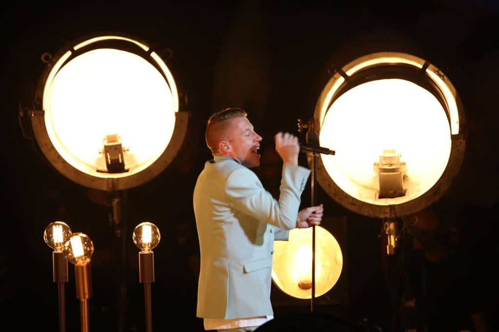"Macklemore performed ""Same Love"" at the VMAs."