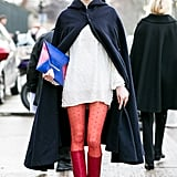 Little Red Riding Hood does fashion week.