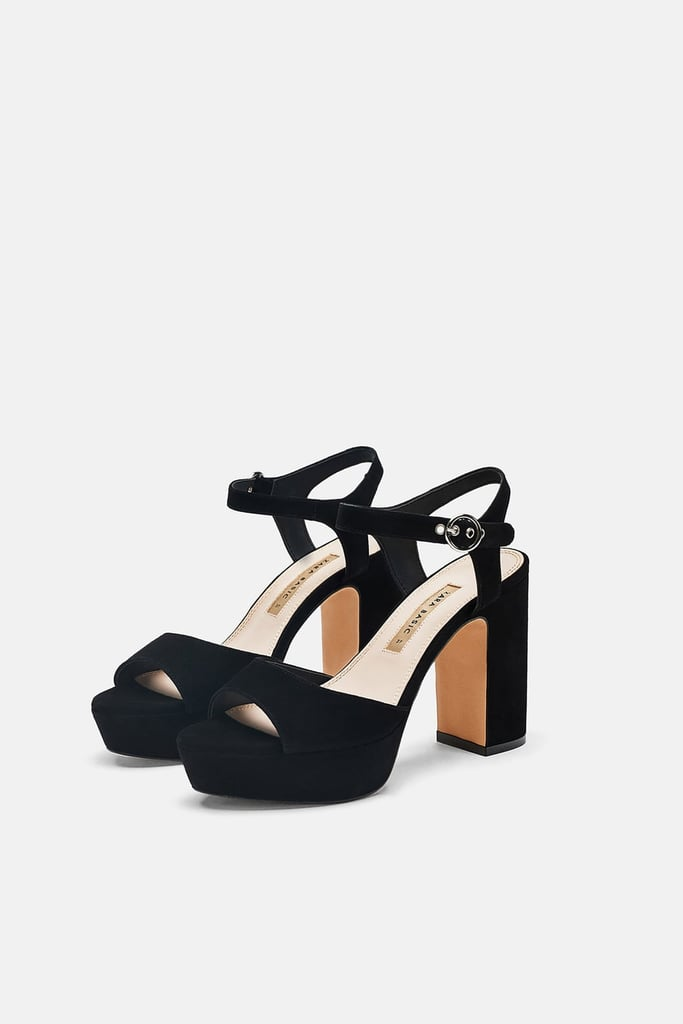 SandalsBeyoncé AlternativeZara Heel Shoes Sexy Platform Leather NO8vnwm0
