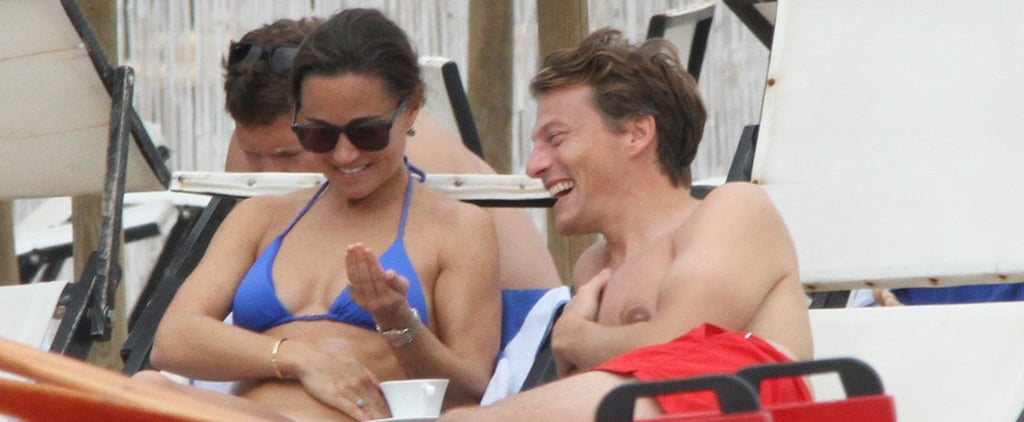 Pippa Middleton Squeezes In Bikini Time After Hanging With the Royals