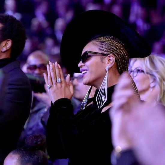 Beyonce's Hair and Makeup at Grammys 2018