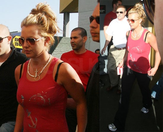 Britney's Doing Better With Her Boys, Too