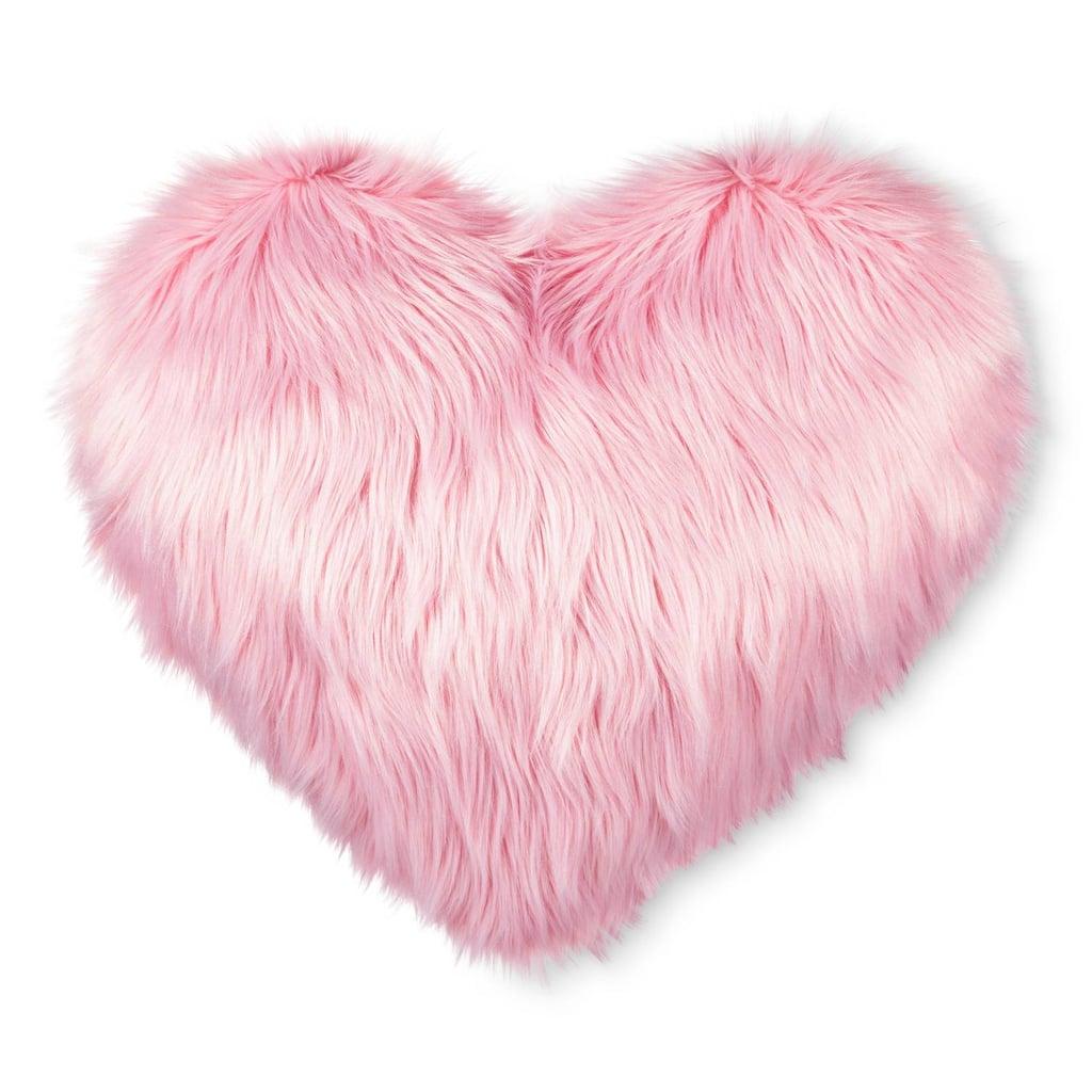 Faux-Fur Throw Pillow