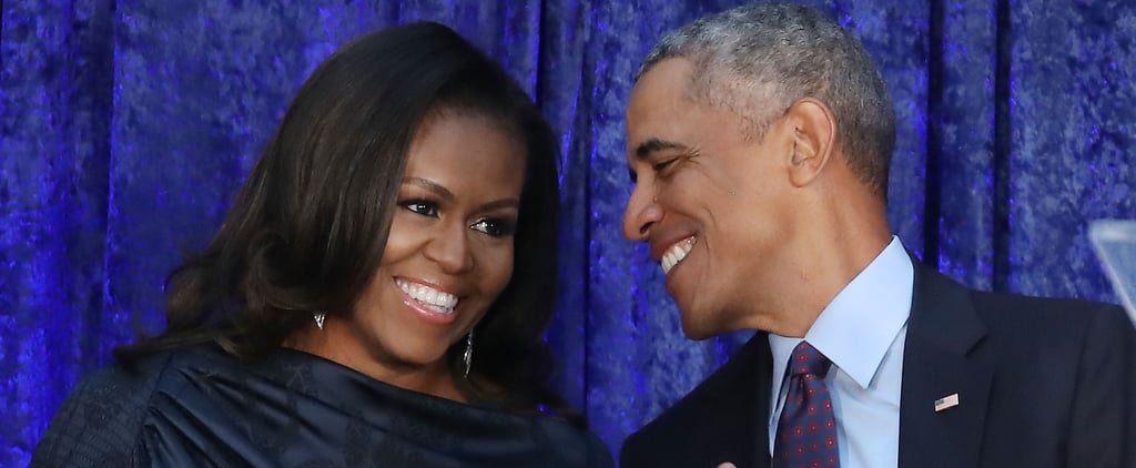 Michelle Obama Had a Sweet Message For Barack's Memoir