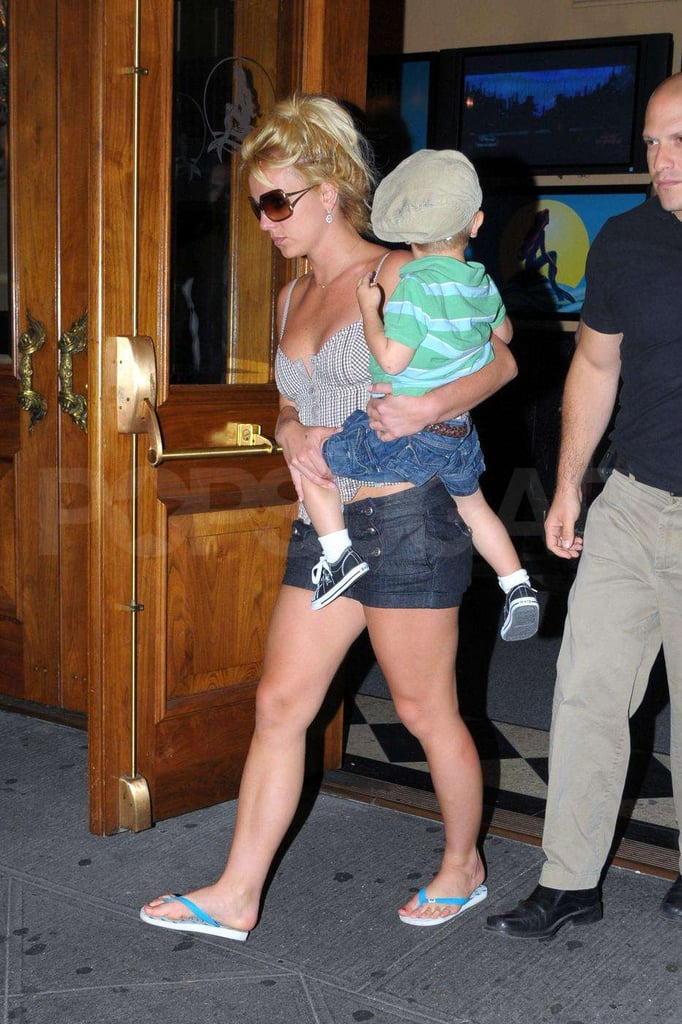 Photos of Britney Spears in NYC