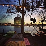 Ride a Boat to Hannekes Boom Bar in Amsterdam