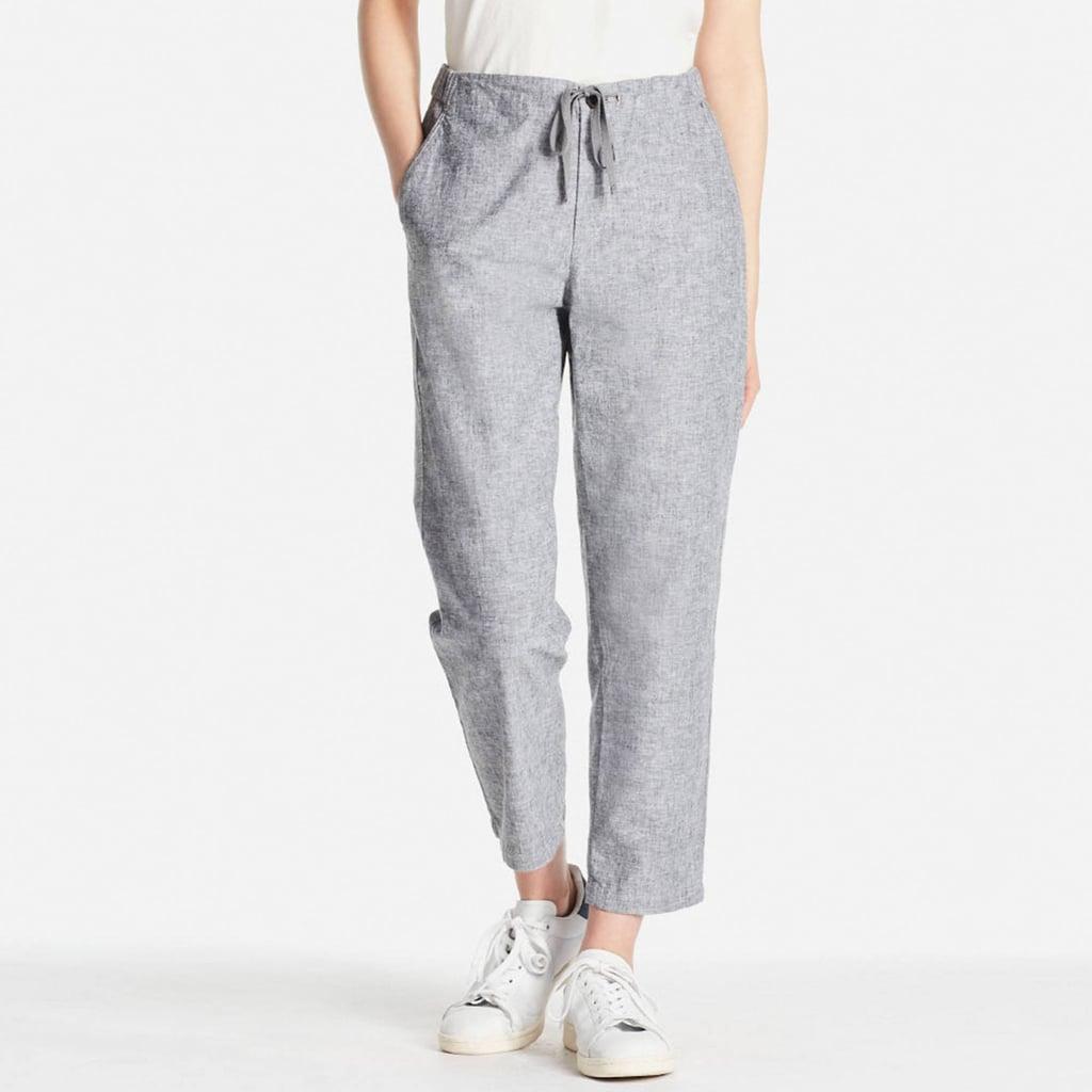 Uniqlo Cotton Linen Relaxed Pants