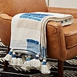 Rivet Global Textured 100% Cotton Throw Blanket
