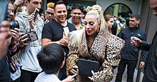 Help, I Can't Stop Staring at Lady Gaga's Braided Hair Bow