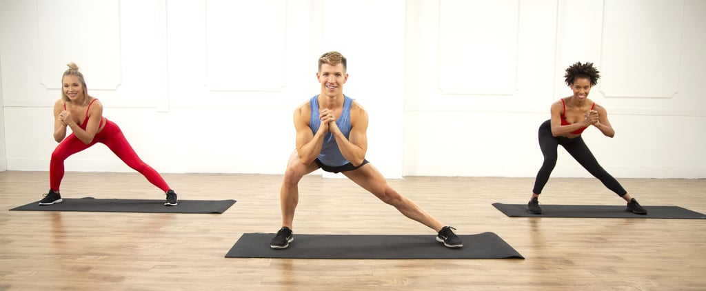 40-Minute Cardio and Barre Sculpting Workout by Jake DuPree