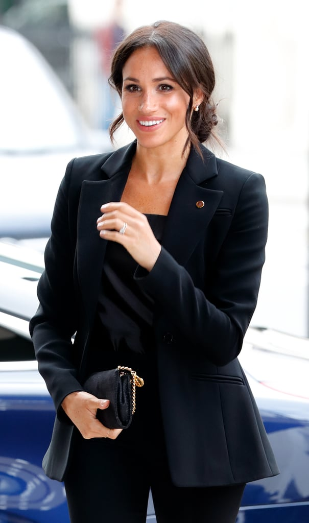 "Meghan Markle's life was forever changed when she became a royal, but she still tries to live a normal life whenever she can. ""She spends most of her weekends in the Cotswolds (about two hours away from Kensington Palace) with Prince Harry,"" People reports. ""When she does venture out to Pilates or to get her hair done, she normally goes incognito under a baseball cap."" In fact, Meghan also reportedly does her own grocery shopping, just like her husband. ""The only other place she has visited regularly is Whole Foods, which is little more than five minutes away from Kensington Palace,"" a source told the publication. ""That way she can quickly sneak in and out without anyone noticing it's her."" Just last month, it was reported that Meghan flew commercial when she made a secret trip to Toronto to visit her BFF Jessica Mulroney. Even though Meghan is the Duchess of Sussex now, we're glad to hear she's still the same old Meg.       Related:                                                                                                           20 Meghan Markle Gifts That Are So Good, You'll Want One of Everything"