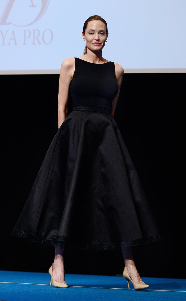 Angelina Jolie spoke to a Japanese audience about rape in war zones.