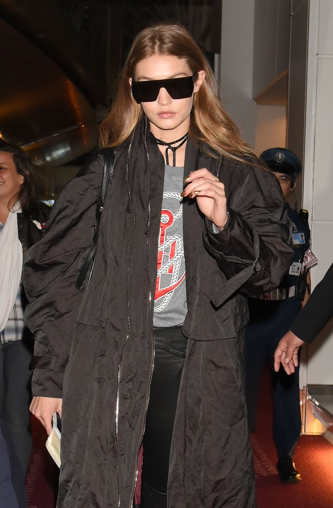 And Also Wore One of Her Own Designs, a Tommy x Gigi Sweater