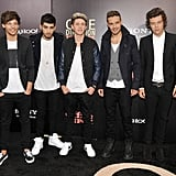 The guys of One Direction wore matching outfits for the NYC premiere of their movie.