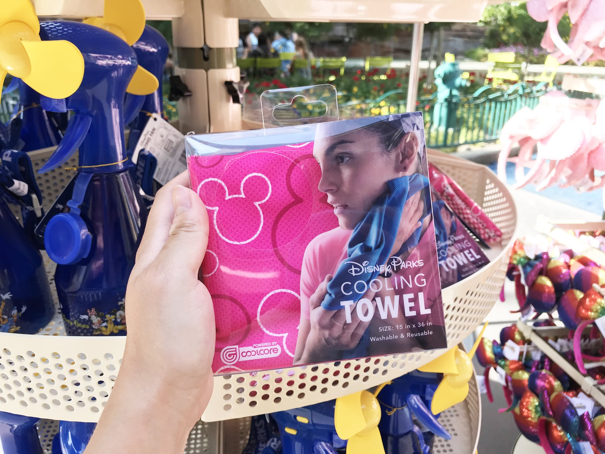 Disney parks cooling towel popsugar moms heres a disney tip for you dont make the mistake of forgetting to check the weather before planning your visit to disneyland like i did publicscrutiny Image collections