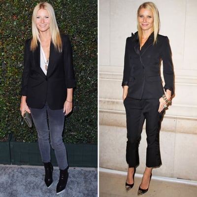 Gwyneth Paltrow Shows Us How to Wear the Essential Black Blazer From Day to Night: Shop Her Versatile Style!