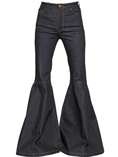 Caterina Gatta Exaggerated Flare Leg Jean ($500)