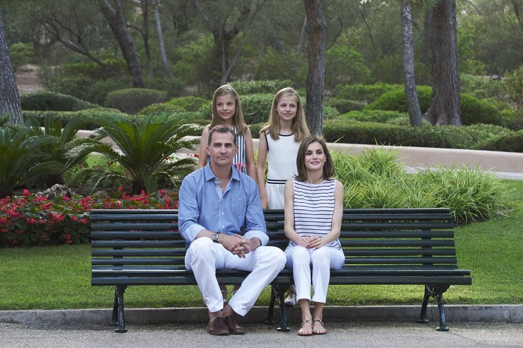 Spanish Royal Family Summer Portraits 2016