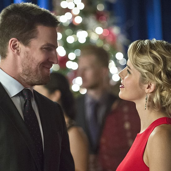 Arrow and The Flash Holiday Episode Pictures 2015